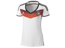 Das Deutschland Trikot WM 2014 für Frauen jetzt mit dem Adidas DFB Home Womens Jersey kaufen