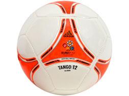 Der Adidas Tango 12 Glider Euro 2012 Ball als EM 2012 Designball
