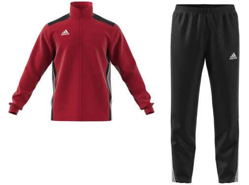 adidas Regista 18 Training Top Rot Schwarz Fußball