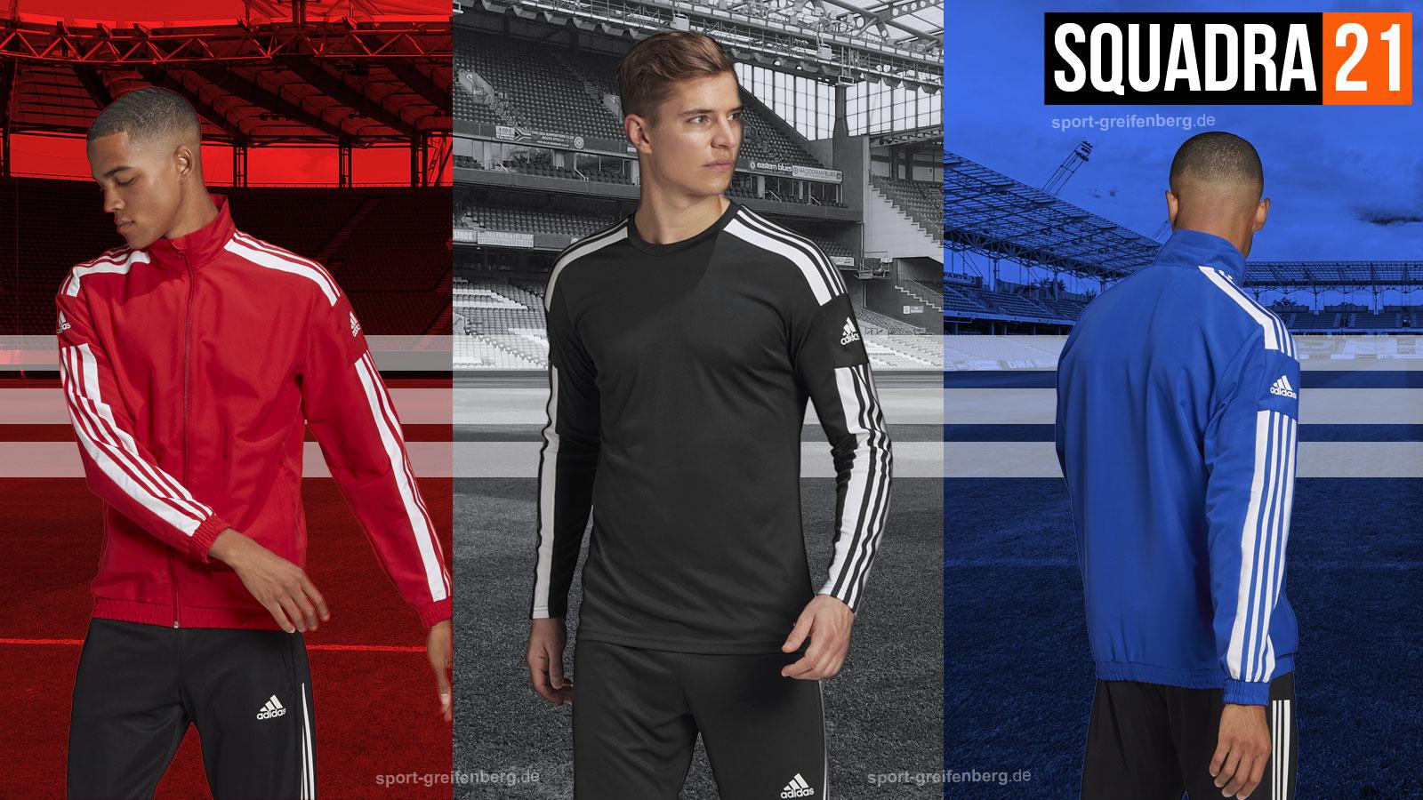 adidas Squadra 21 Sportbekleidung für dein Team bestellen