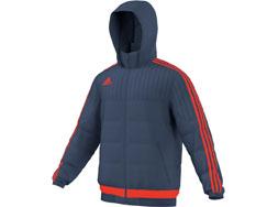 Die Adidas Tiro 15 Padded Jacket als sportive Freizeit Winterjacke im Teamline Look