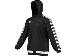 Die Adidas Tiro 15 Rain Jacket als Regenjacken für den Sport