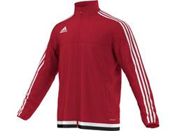 Die Adidas Tiro 15 Training Jacket als Trainingsjacke für den reinen Sporteinsatz