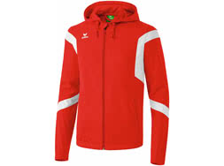 Das Erima Classic Team Trainingsjacke mit Kapuze in allen Farben bestellen