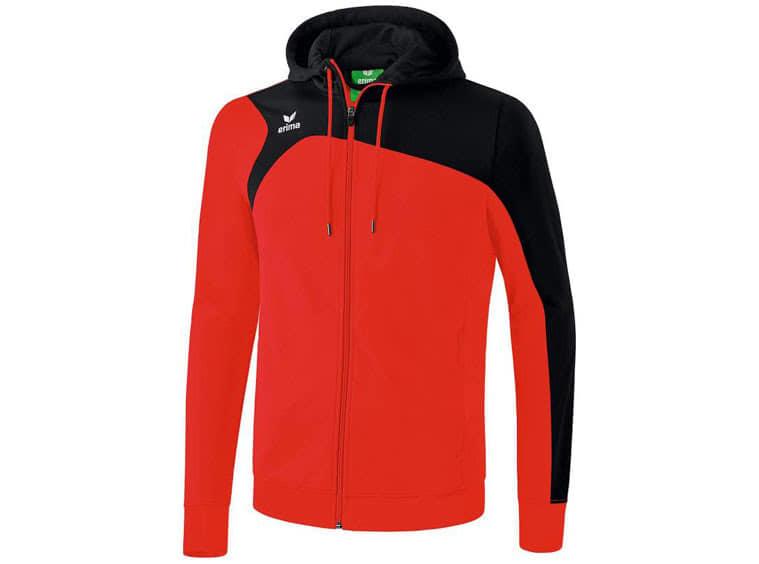 Das Erima Club 1900 2.0 Trainingsjacke mit Kapuze als Trainingsjacke zum trainieren
