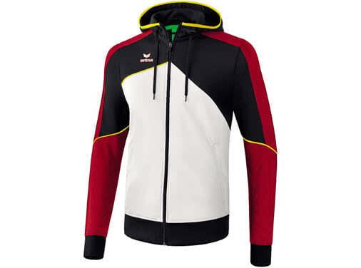 Erima Premium One 2.0 Trainingsjacke mit Kapuze als Sportjacke im Shop kaufen
