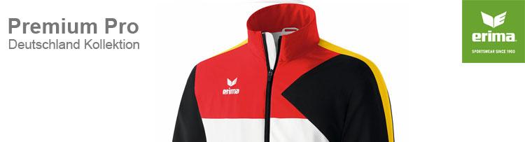 Erima Premium One Deutschland Kollektion für Verbände und Vereine