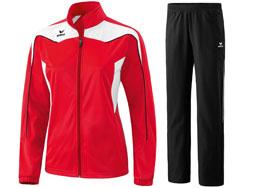 Der Erima Damen Polyesteranzug Shooter als Trainingsanzug für Vereine und Mannschaften
