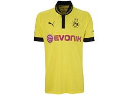 Das Borussia Dortmund Trikot 2012/2013 Home im neuen Design bestellen.