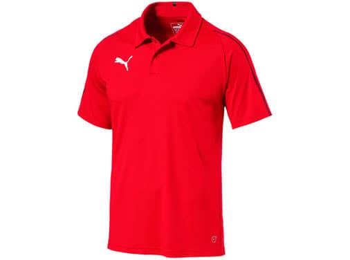 Puma Final Sideline Polo als Polyester Poloshirt bestellen