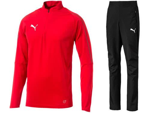 Puma Final Sideline Präsentationsanzug und Woven Suit im Shop bestellen