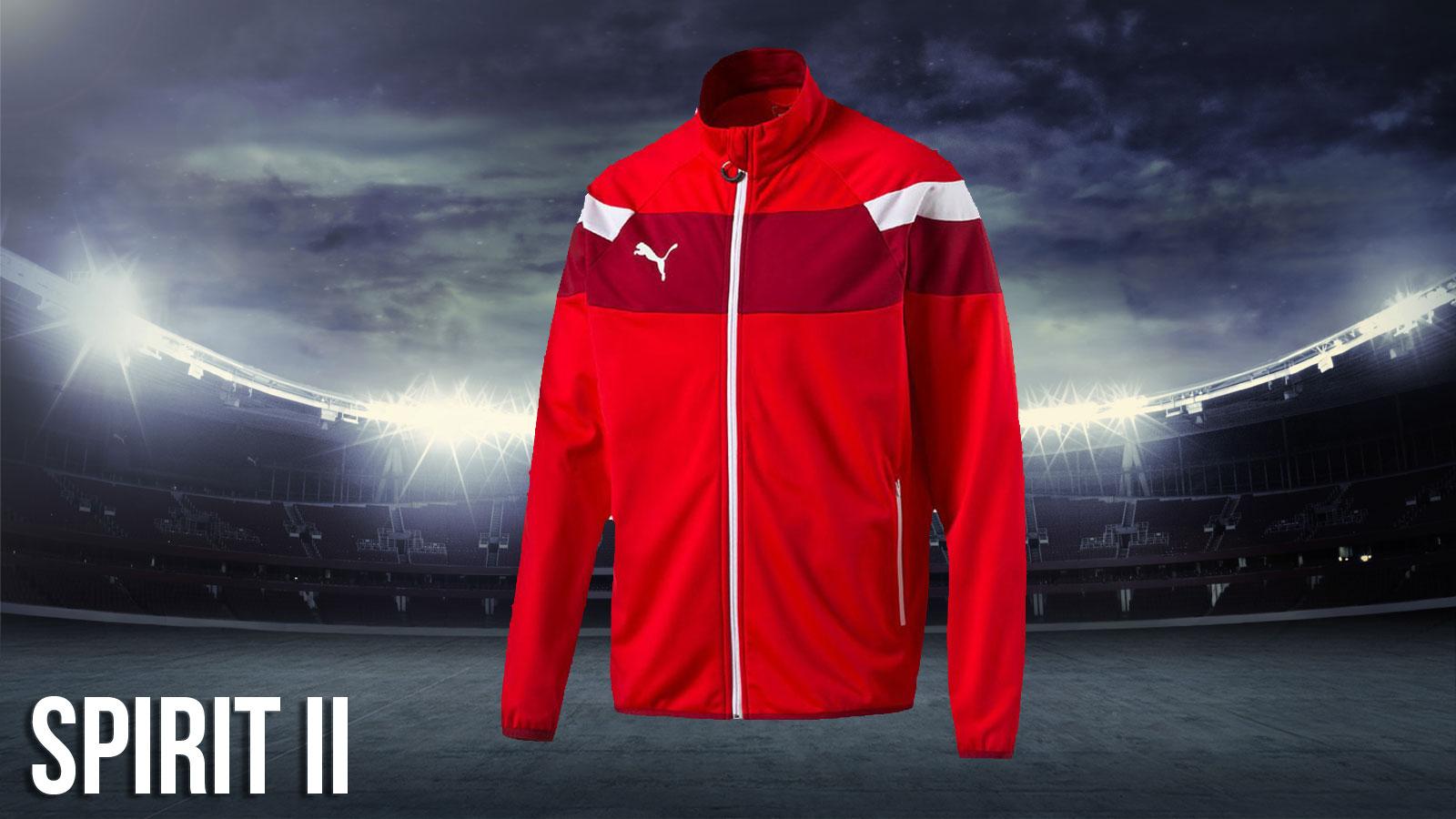 Puma Spirit II Teamline Sportbekleidung für die Spielzeiten 2016 bis 2018