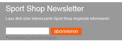 Teamsport Newsletter für Vereine