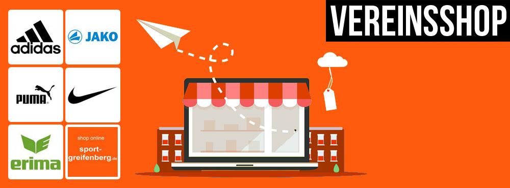 Vereinsshop - Online Shop für Vereine