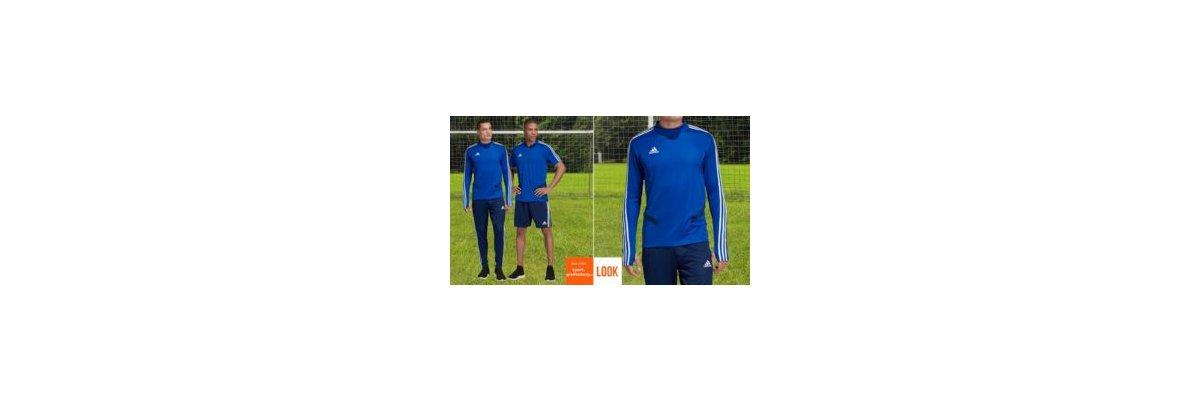 adidas Tiro 19 Training Set blau - adidas Tiro 19 Training Set blau | Training Top und Training Jersey
