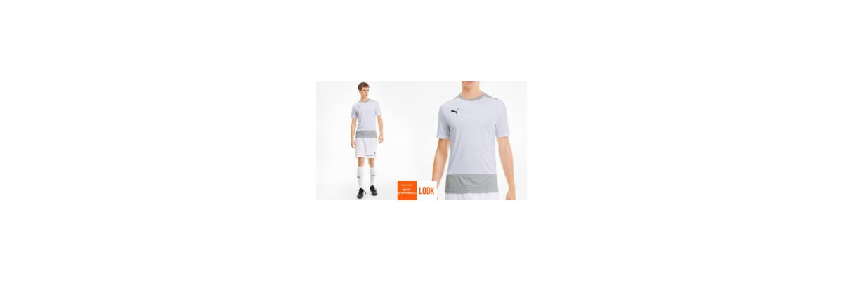 Puma Training Shirt Set weiß - Puma Training Shirt Set weiß | shirt | Short | Stutzen