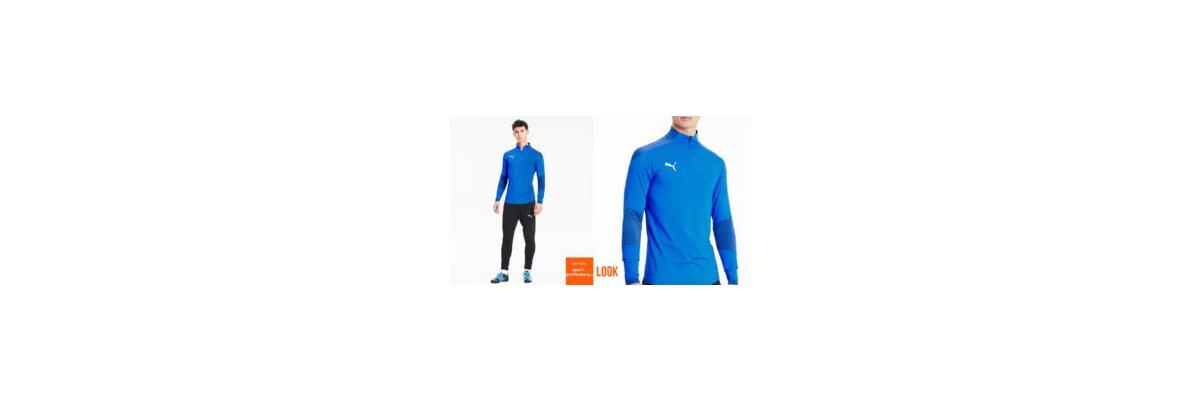 Puma Training Top Set blau - Puma Training Top Set blau | Trainingstop | Trainingshose