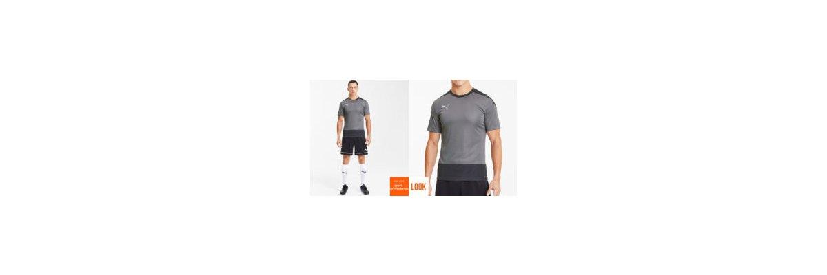 Puma Fußball Training set grau - Puma Fußball Training set grau | Shirt | Short