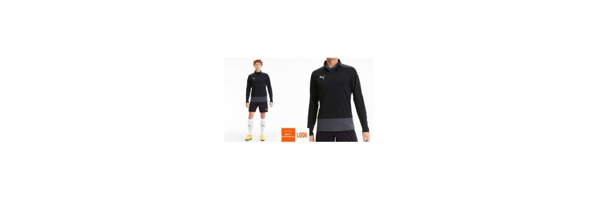 Puma Fußball Training Outfit schwarz - Puma Fußball Training Otufit schwarz | Trainingsoberteil | Short