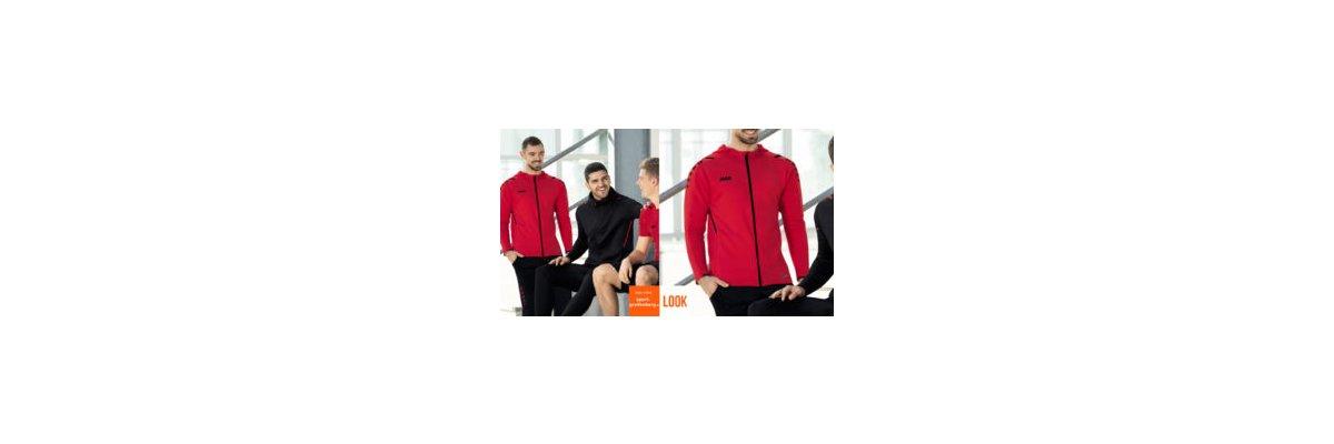 Jako Sport Outfit Challenge rot - Jako Sport Outfit Challenge rot | Trainingsjacke + Hose