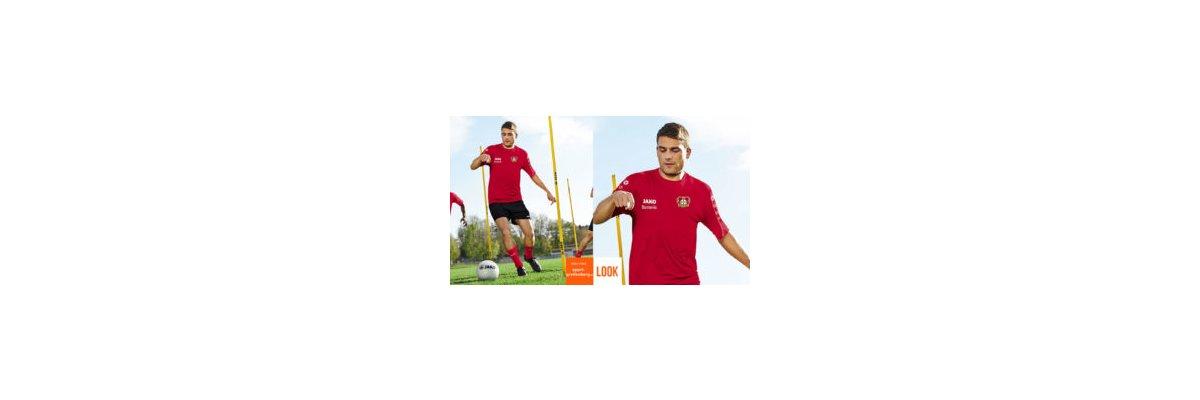 Jako Trainingsbekleidung wie Bayer Leverkusen - Jako Trainingsbekleidung wie Bayer Leverkusen