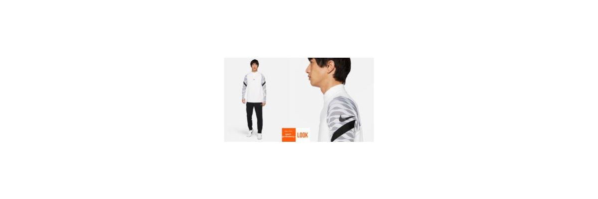 Nike Sport Outfit Strike weiss - Nike Sport Outfit Strike weiss | Training Top | Training Pant