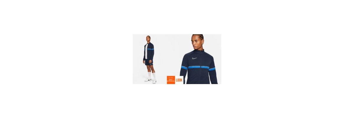 Nike Academy Sport Set dunkelblau - Nike Academy Sport Set dunkelblau | Trainingsjacke mit Short