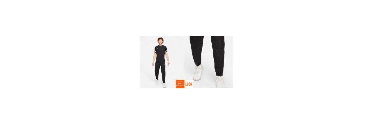 Nike Academy Freizeit Look schwarz - Nike Academy Freizeit Look schwarz | Shirt | lange Hose