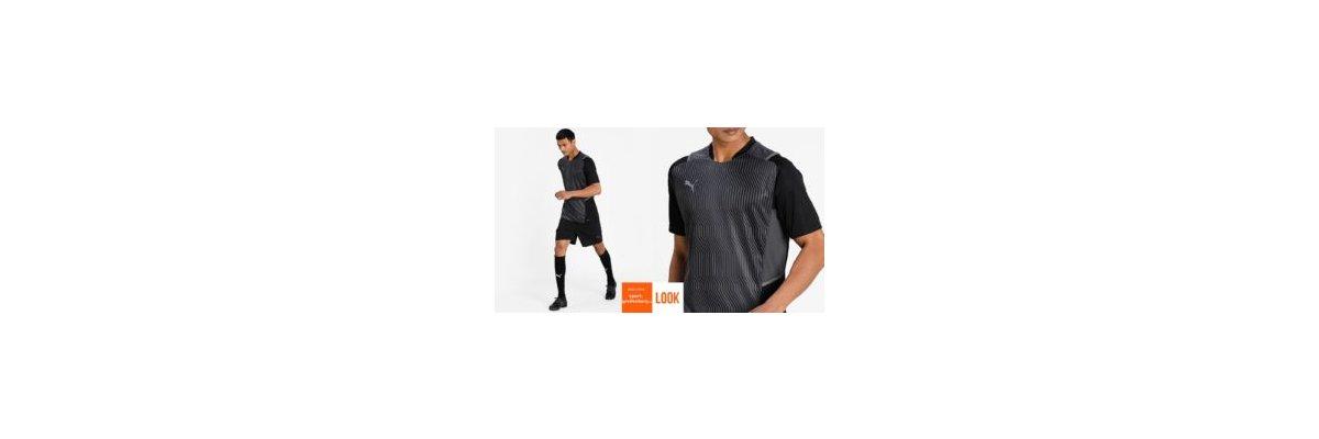 Puma Training Outfit teamCup schwarz - Puma Training Outfit teamCup | Shirt | Short