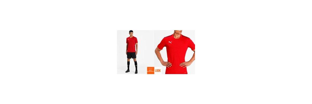 Puma Profi Trikot Set teamCup rot - Puma Profi Trikot Set teamCup rot | Jersey | Short
