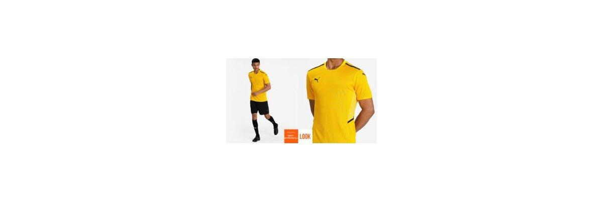 Puma Trikot Set teamCup gelb - Puma Trikot Sett teamCup gelb | Trikot | Hose | Stutzen