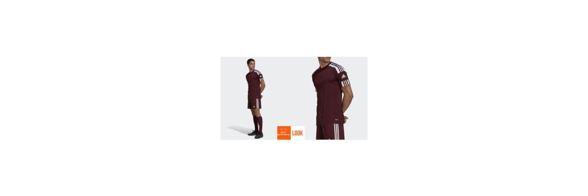adidas Trikot Set Squadra weinrot - adidas Trikot Set Squadra weinrot | Trikots mit Hosen und Stutzen