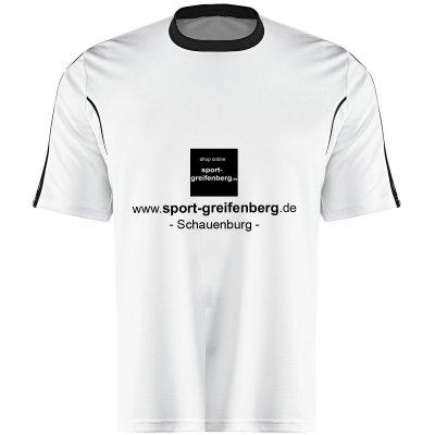 Beschriftung mit eigenem Sponsor (einfarbig)