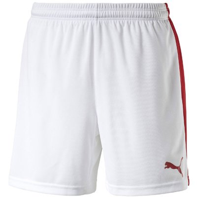 Puma Pitch Short Slip - white-puma red - Gr. l im Sport Shop
