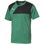 Puma Esquadra Leisure T-Shirt - power green-black - Gr. m