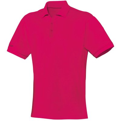 Jako Polo Team - pink  - Gr.  5xl (Farbe: rot 42 )