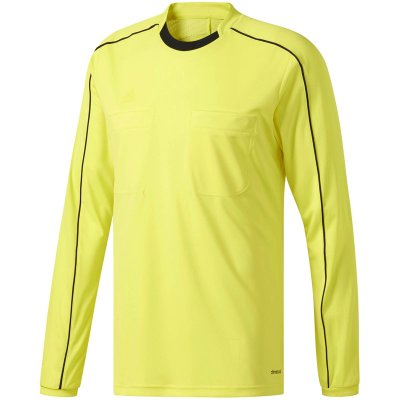 Adidas Referee 16 Trikot Langarm - shock yellow s16/black - Gr. xl im Sport Shop