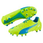 Puma Evospeed 1.4 Lth Fg - safety yellow-atomic blue-whit...