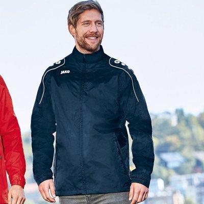 Jako Team Allwetterjacke Regenjacke Jacke Sport Schwarz 7401-08