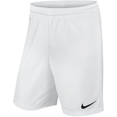 Nike Park II Knit Short - white/black - Gr.  l im Sport Shop