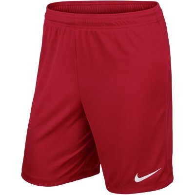 Nike Park II Knit Short - university red/white - Gr.  l im Sport Shop