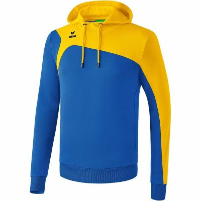 Erima Club 1900 2.0  Hoodie - new royal/yellow - Gr. 3XL (Farbe: 42 grün )