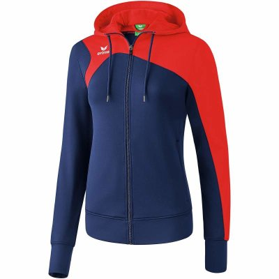 Erima Club 1900 2.0 Trainingsjacke Mit Kapuze - new navy/red - Gr. 48