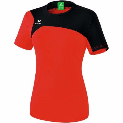 Erima Club 1900 2.0 T-Shirt - red/black - Gr. 38 (Farbe: rot S )