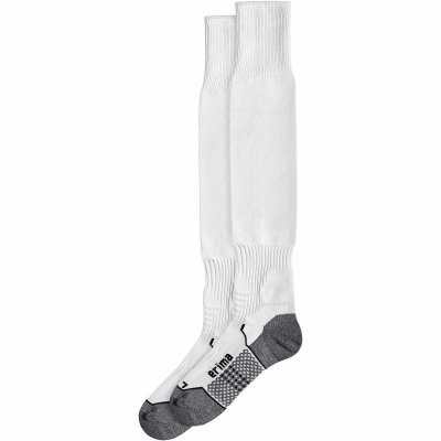 Erima Football Socks W/O Logo - new white - Gr. 47 im Sport Shop