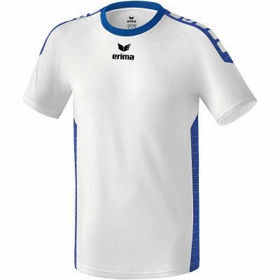 Erima Sevilla Trikot - white/new royal - Gr. 3XL (Farbe: rot S )
