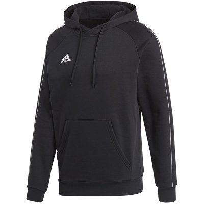 adidas Core 18 Hoody - black/white - Gr. m im Sport Shop