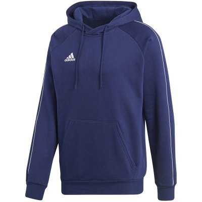 adidas Core 18 Hoody - dark blue/white - Gr. s im Sport Shop