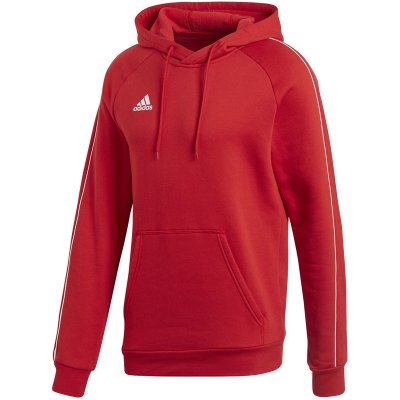 adidas Core 18 Hoody - power red/white - Gr. xl im Sport Shop