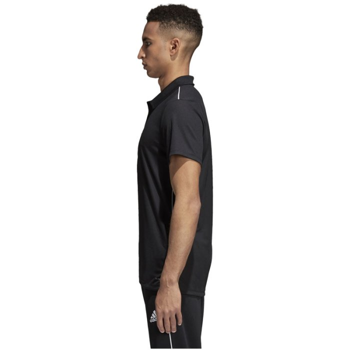 adidas herren core 18 polo shirt weiß